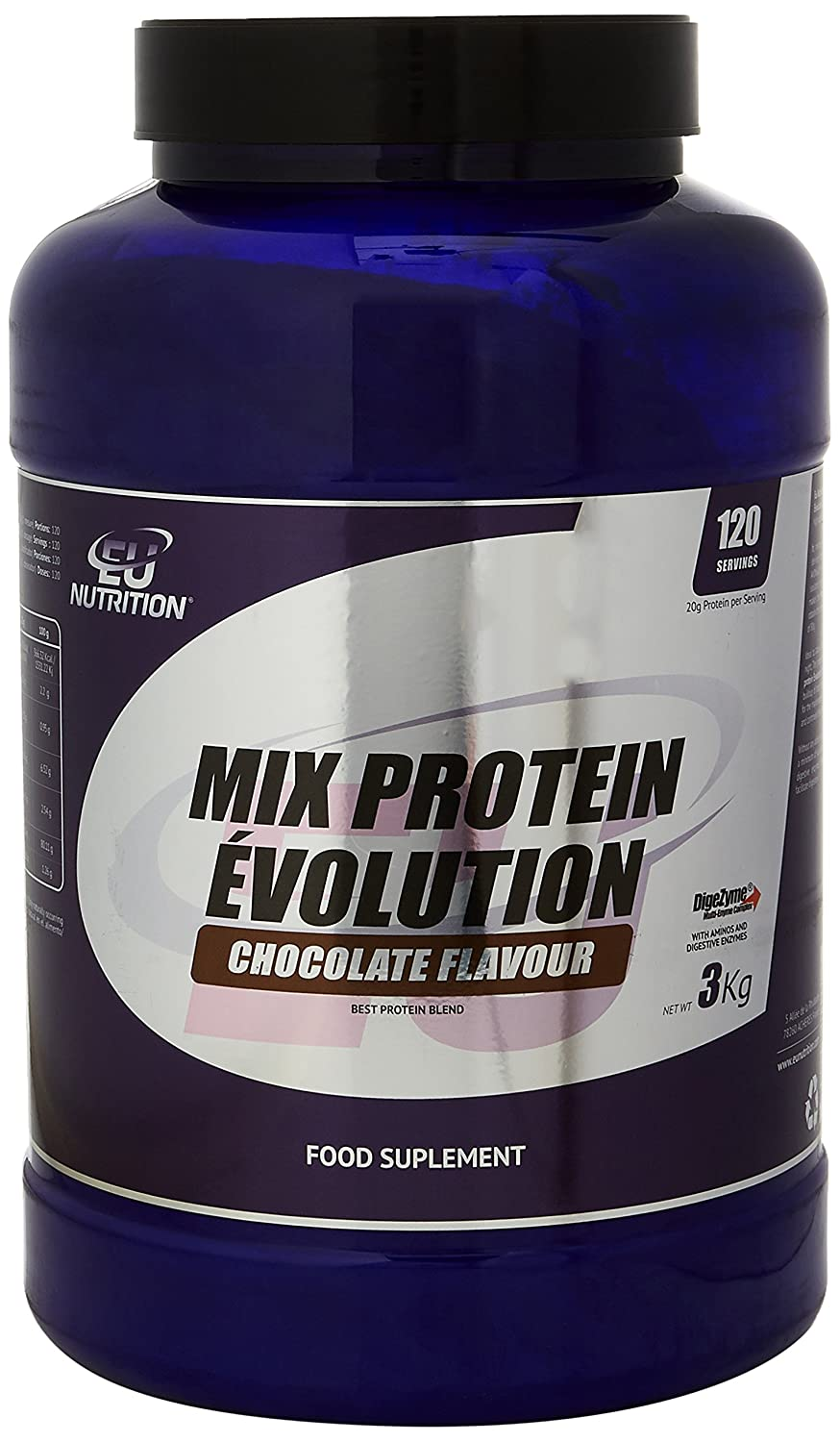 EU Nutrition Mix Protein Évolution Chocolate - 3000 gr ...