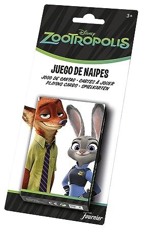 Zootropolis - Baraja Infantil con 40 Cartas (Naipes Heraclio ...