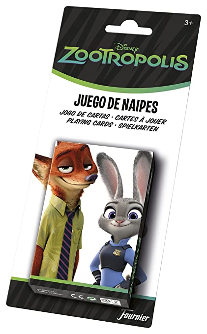 Amazon.com: Zootropolis – Childrens Playing with 40 Cards ...