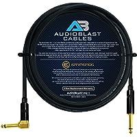 Audioblast – 15 pies – HQ-1 – Ultra flexible – Dual blindado (100%) – Pedal de efectos de guitarra con Eminencia recta y…