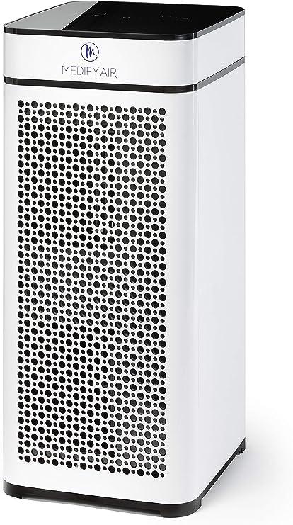 Medify MA-40 Filtración de Grado médico H13 True HEPA para 800 Sq. Purificador de Aire de pies, 99,97% de eliminación con Sensor de partículas y diseño Moderno.: Amazon.es: Hogar