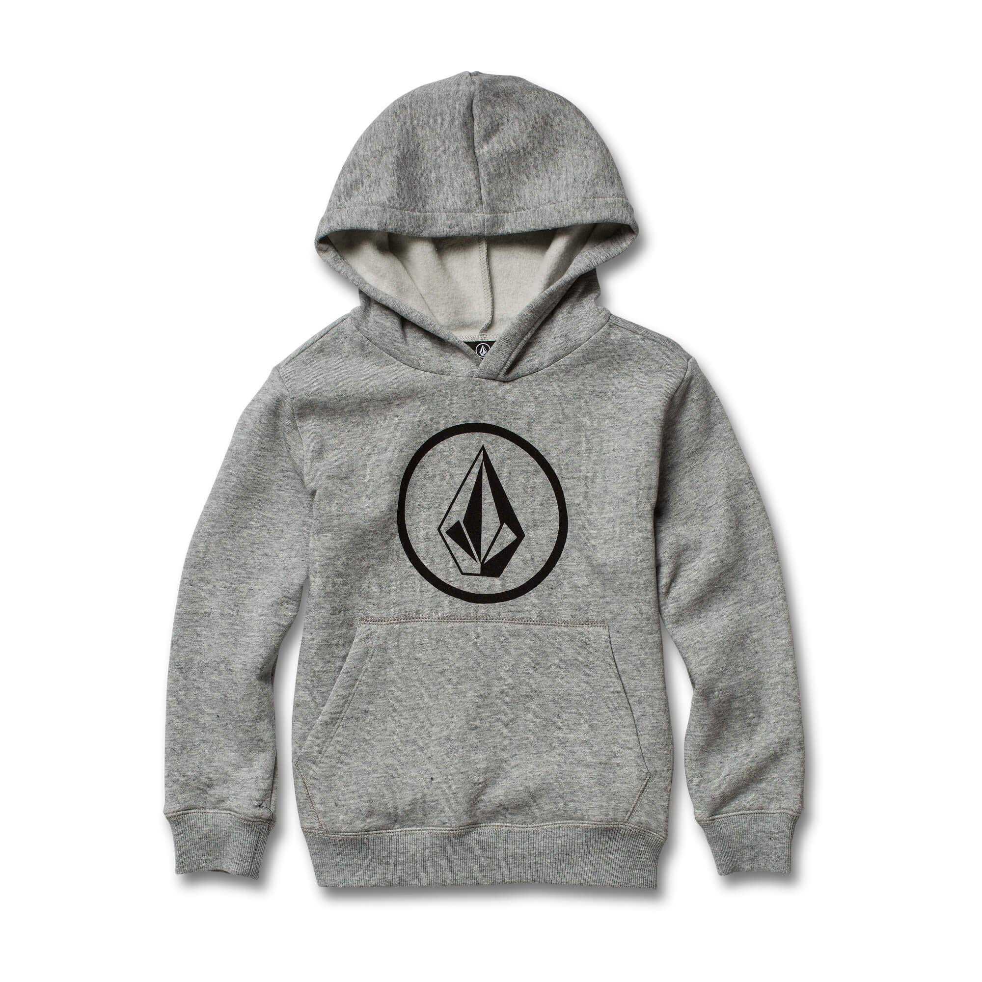Volcom Boys' Little Stone Pullover Hooded Fleece, Storm 4T