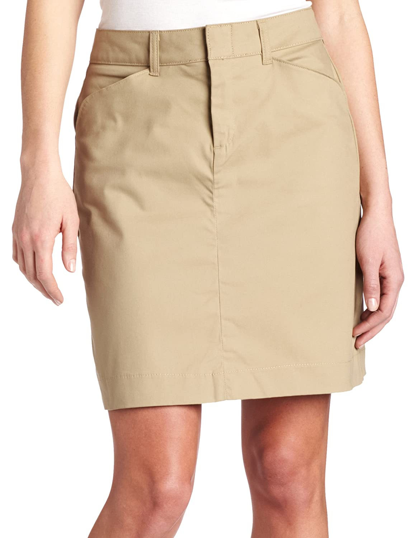 Dickies Women's 20 Inch Stretch Twill Skirt at Amazon Women's ...