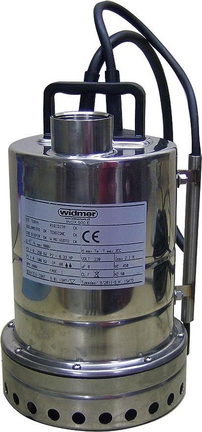 Hydro Star – Bomba sumergible, 1 pieza, Inox 500 E