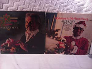 Kenny Rodgers Vs Charlie Pride Christmas Bundle :Featuring Kenny Rodgers Christmas & Charley Pride with Christmas in My Home Town.