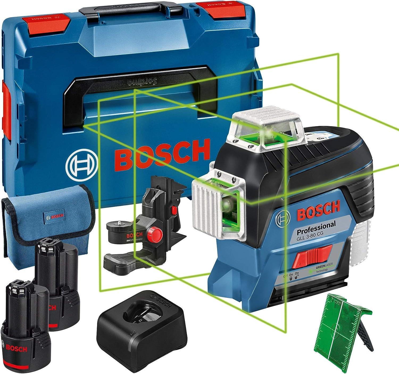 Bosch Professional 0601063T05 12V System nivel láser GLL 3-80 CG