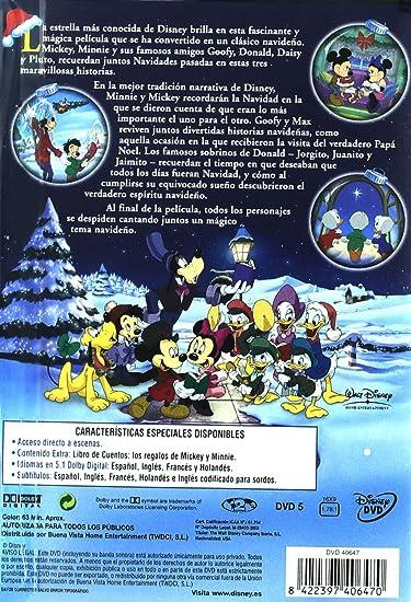 Mickey descubre la navidad [DVD]: Amazon.es: Jun Falkenstein, Alex Man: Cine y Series TV