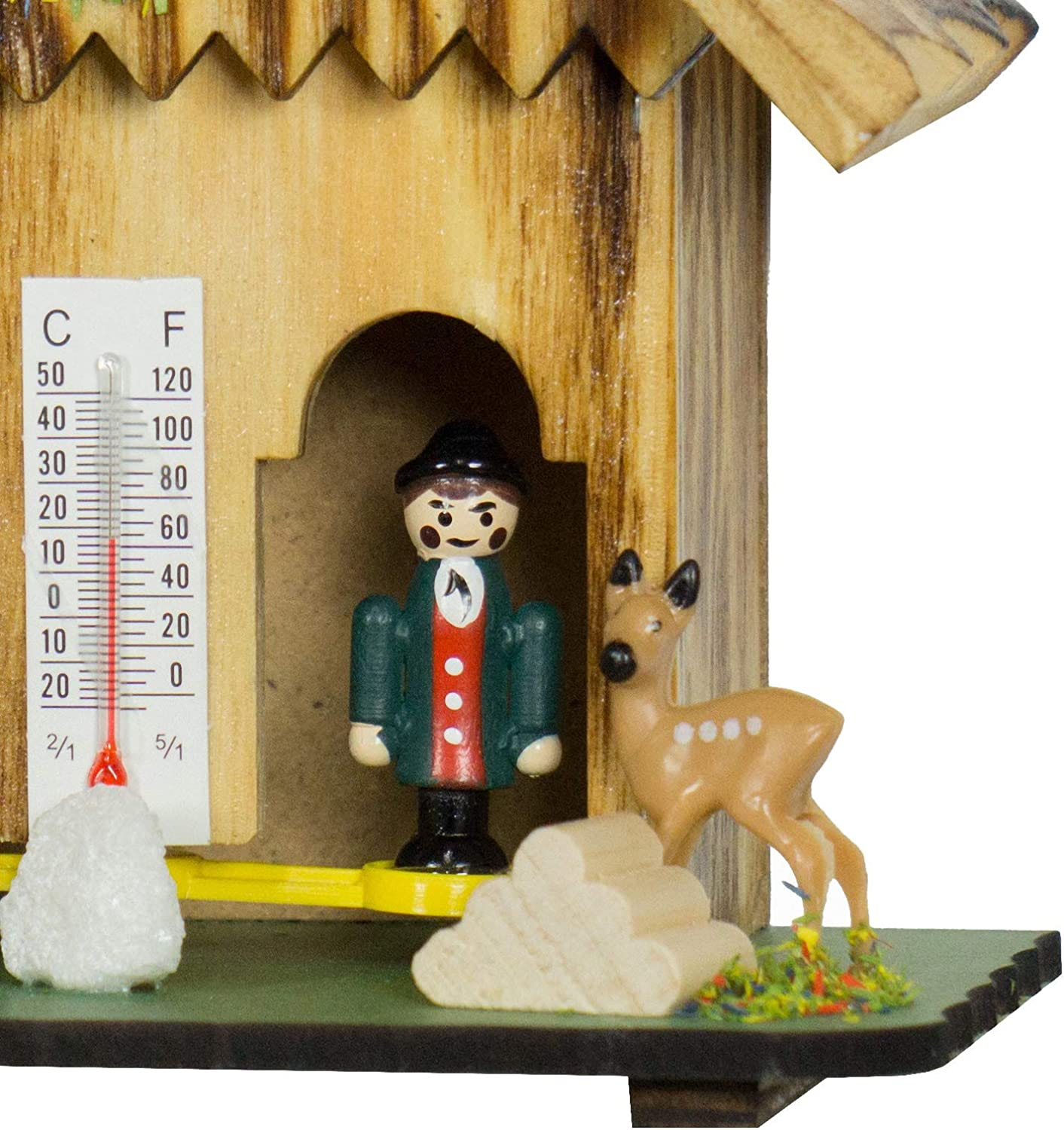 German Black Forest weather house TU 73 hell by Trenkle Uhren