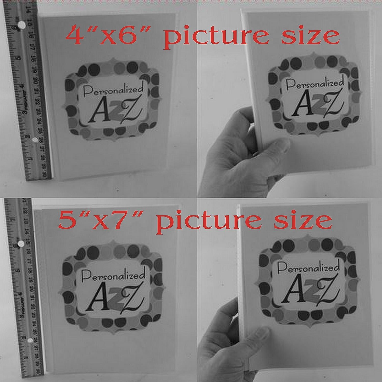 Personalized 4X6 photo album Baseball bragbook