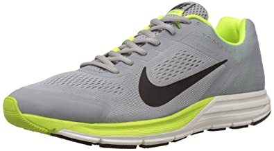 60d5e4c3970005 Nike Men s Zoom Structure 17 Silver Black Volt 7.5 Medium ...
