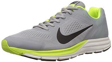 c77378acbf5 Nike Men s Zoom Structure 17 Silver Black Volt 7.5 Medium ...