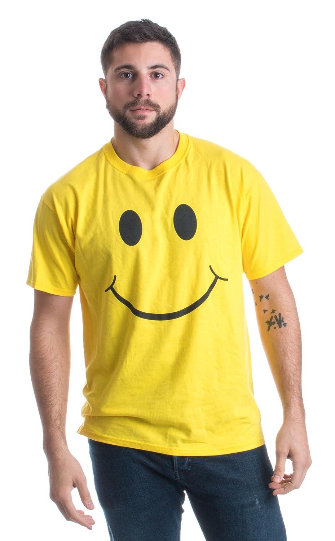 815D63FvPhL._UL1500_ amazon com smiley face cute, positive, happy smile face unisex t