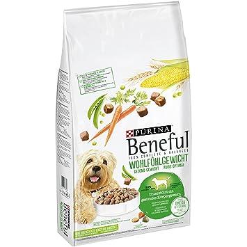 Beneful Purina Perros trockenfutter Wohlfühl Peso (con Pollo, Jardín Verduras y vitaminas): Amazon.es: Productos para mascotas