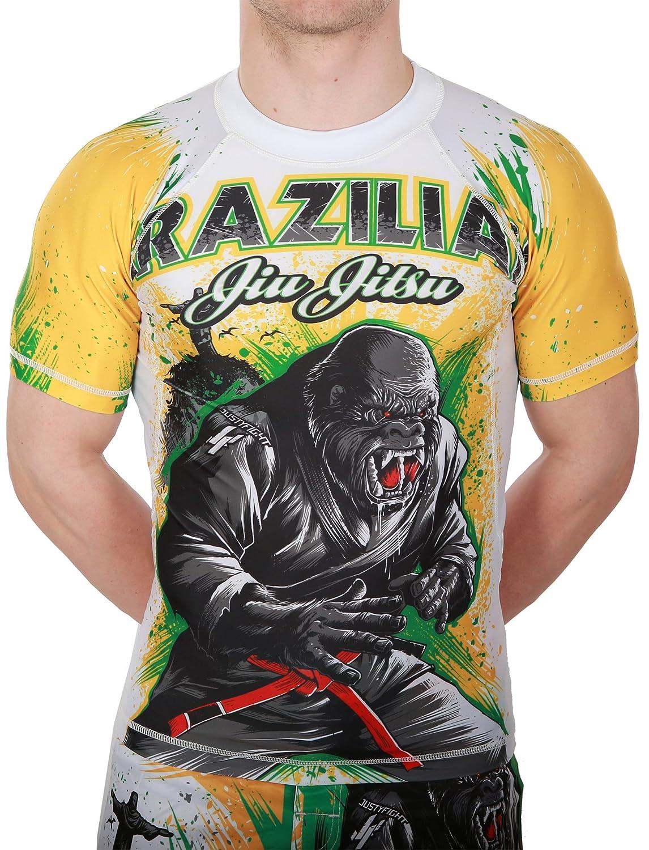 BJJ Gorilla Rashguard Kurz - Justyfight - MMA - BJJ - Grappling