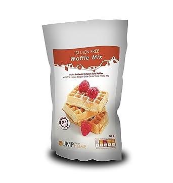 Mezcla para Waffles Estilo Belga LIBRE DE GLUTEN: Amazon.es ...
