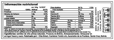 semilla de chia Selección super fina 2kgs: Amazon.es: Salud y cuidado personal