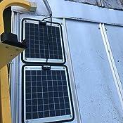 Amazon Com Duravolt Marine Solar Panel Battery Charger