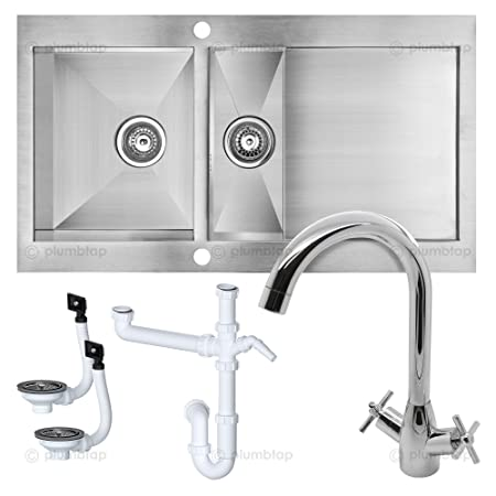 Cooke And Lewis Kitchen Sinks Professional cooke lewis unik kitchen sink cross handle mixer professional cooke lewis unik kitchen sink cross handle mixer tap 15 bowl with workwithnaturefo