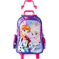 Mala Escolar G com Rodinhas Disney Frozen, 41 x 30 x 14, Dermiwil 51981, Multicor