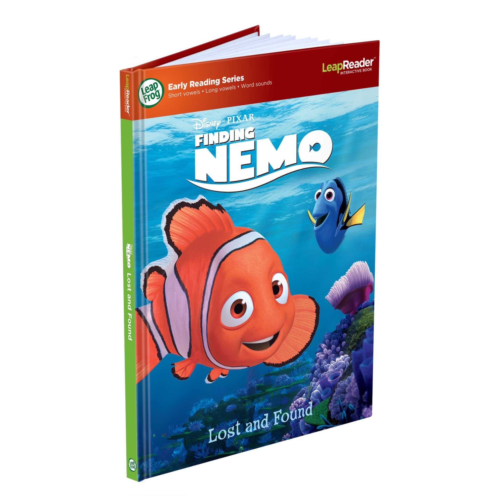 LeapFrog LeapReader Book: Disney·Pixar Finding Nemo, Lost and Found (works with Tag) by LeapFrog