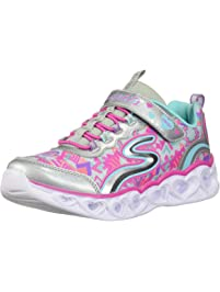 Skechers Girls Heart Lights Sneakers