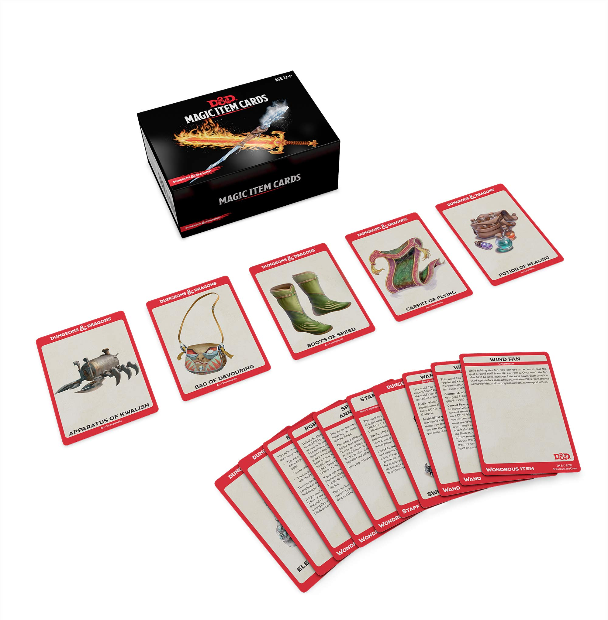 Dungeons & Dragons Spellbook Cards: Magic Items (D&D Accessory