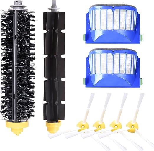Bristle Brushes Flexible Beater Brush For iRobot Roomba 600 620 630 Series