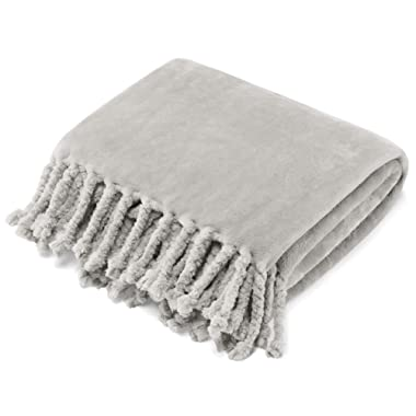 Stone Cottage Hazel Throw, 50x70, Grey