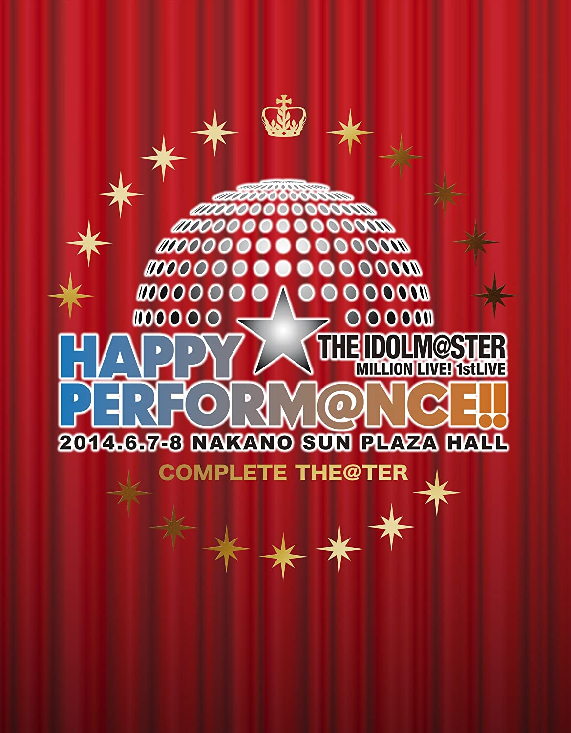 """THE IDOLM@STER MILLION LIVE! 1stLIVE HAPPY☆PERFORM@NCE!! Blu-ray """"COMPLETE THE@TER""""(完全生産限定) B00NHL2PXO"""