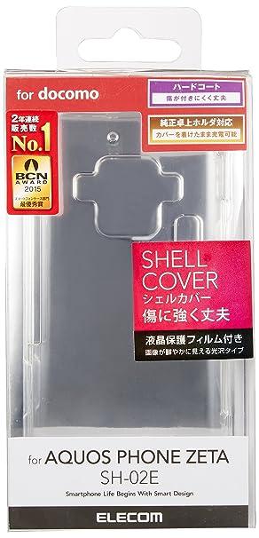 Amazon com: Elecom AQUOS PHONE ZETA (SH-02E) Accessories for shell