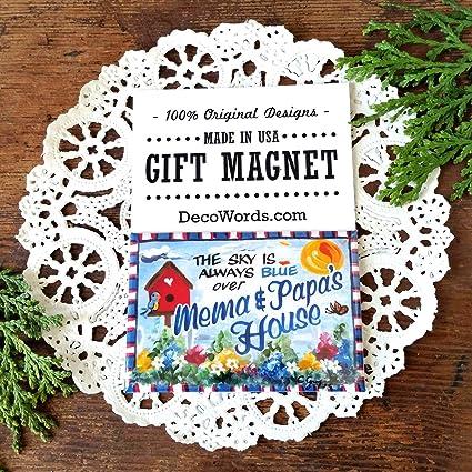 Amazon com: 2''x3'' Fridge Magnet MEMA PAPA MAGNET Gift Grandparent