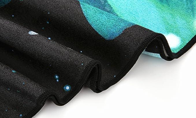 Heathyoga Navidad Venta Toalla de Yoga, diseño Exclusivo de Esquina Bolsillos + Libre Botella de Spray, 100% Microfibra Toalla Protectora de Esterilla ...