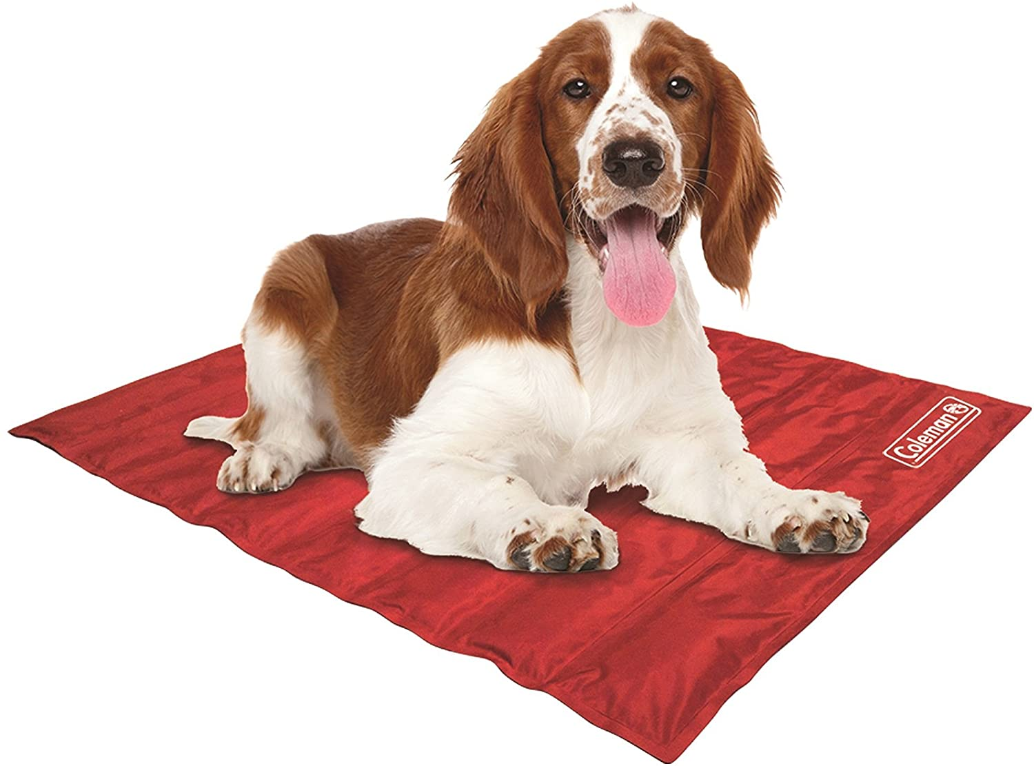 Coleman Pressure Activated Comfort Cooling Gel Pet Pad Mat, for Medium Pets, Keep Your pet Cool, and Reduce Joint Pain. Year Round