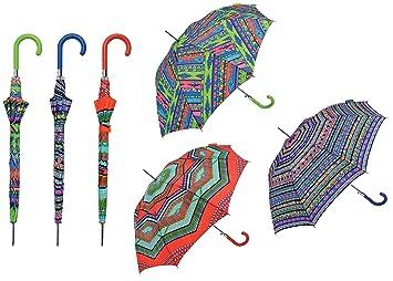 FumandoEspero Paraguas Automático Largo Étnico - Bisetti