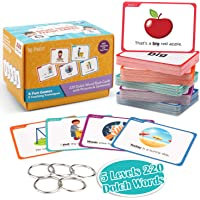 Joy Dynasty Sight Words Flash Cards Kindergarten with Pictures & Sentences - 220 Dolch Sight Word Reading Flash Card…