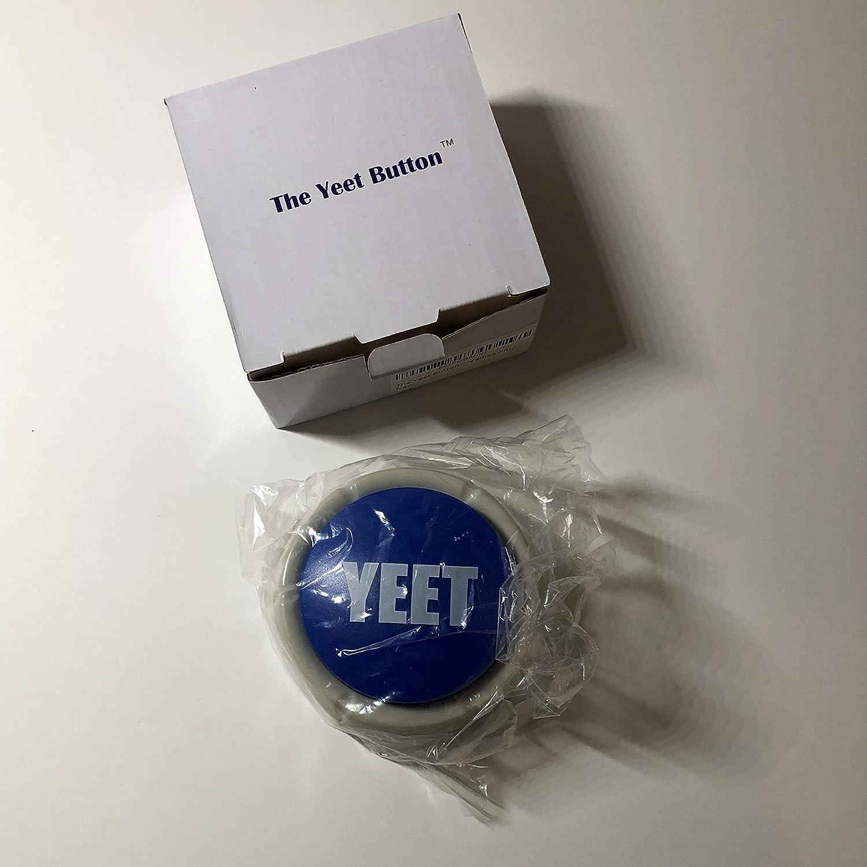 The Yeet Button Toy A Real Life Yeet Meme Blue Meme Button Yeet A Toy For The Meme Lords