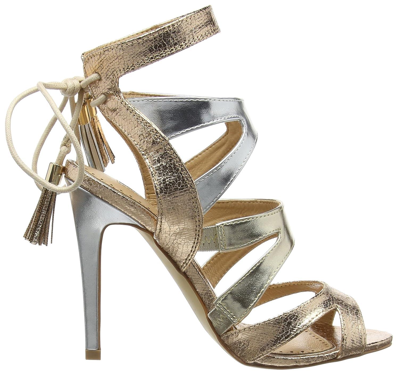 Miss KG Frenchy2, Women Open-Toe Pumps, Gold (Metal Comb), 5 UK (38 EU):  Amazon.co.uk: Shoes & Bags