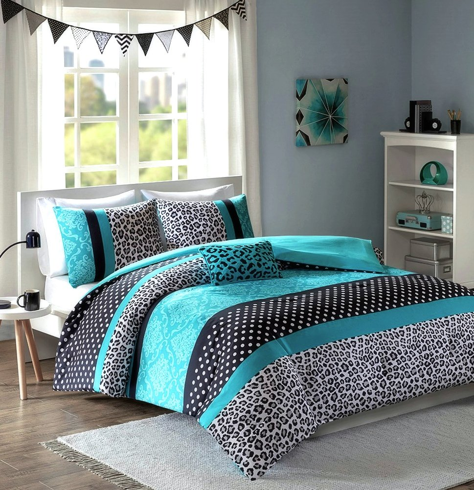 duvet product cover bed linens bedding carson quilt printed set teal range
