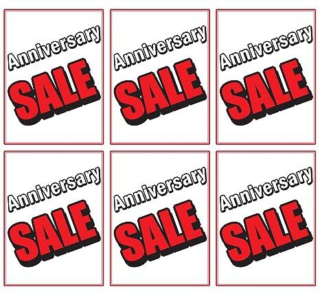 Amazon com : Anniversary Sale | Large Store Window/Wall