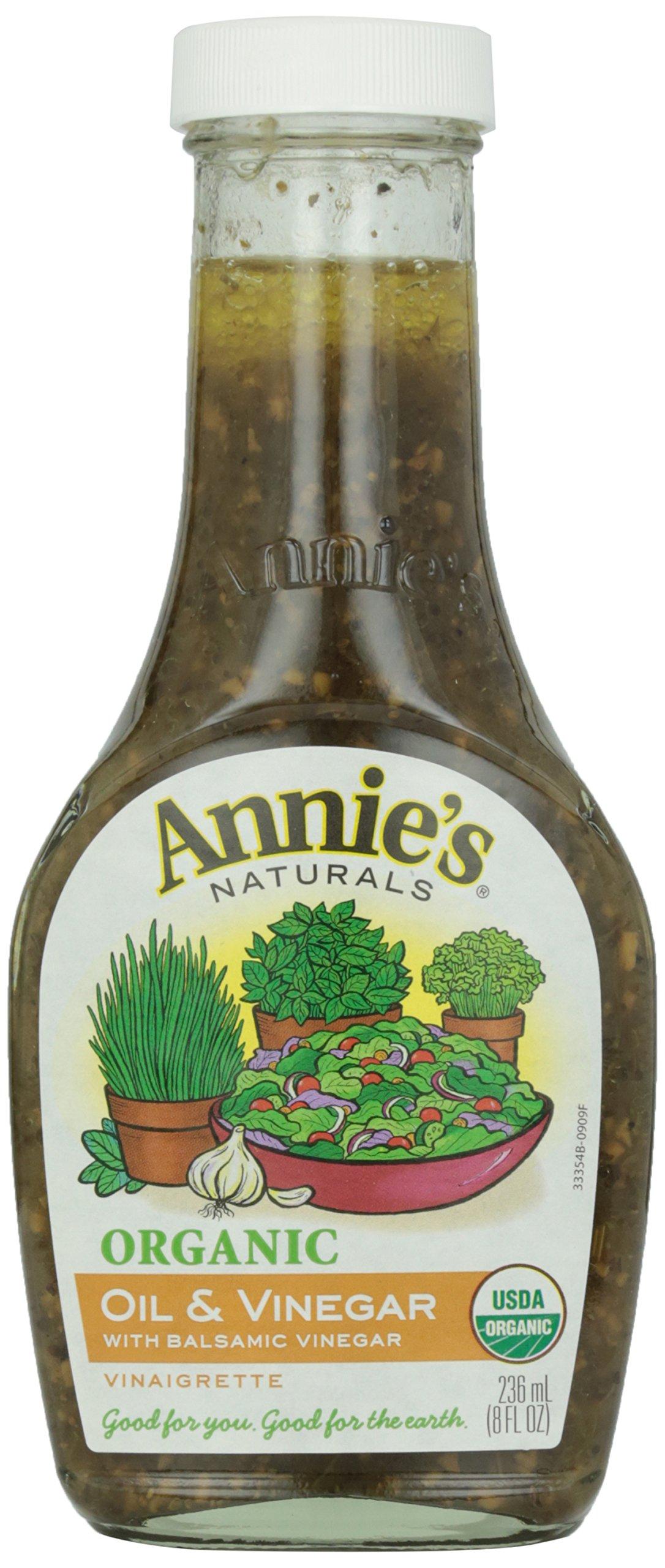 Annie's Naturals Organic Oil and Basil Vinaigrette, 8 oz