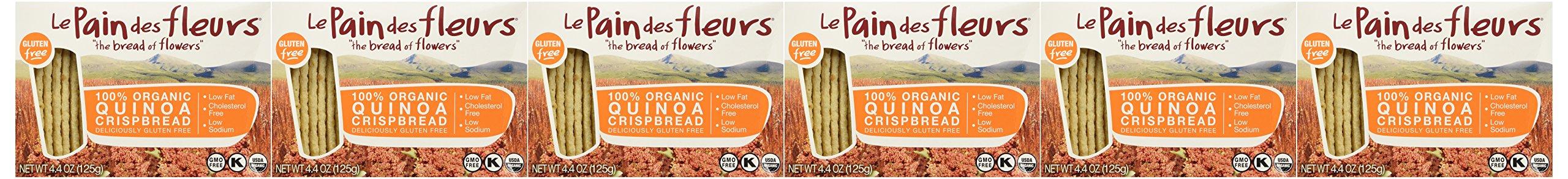 Le Pain Crispbread, 100% Organic, Quinoa, 4.41 Oz