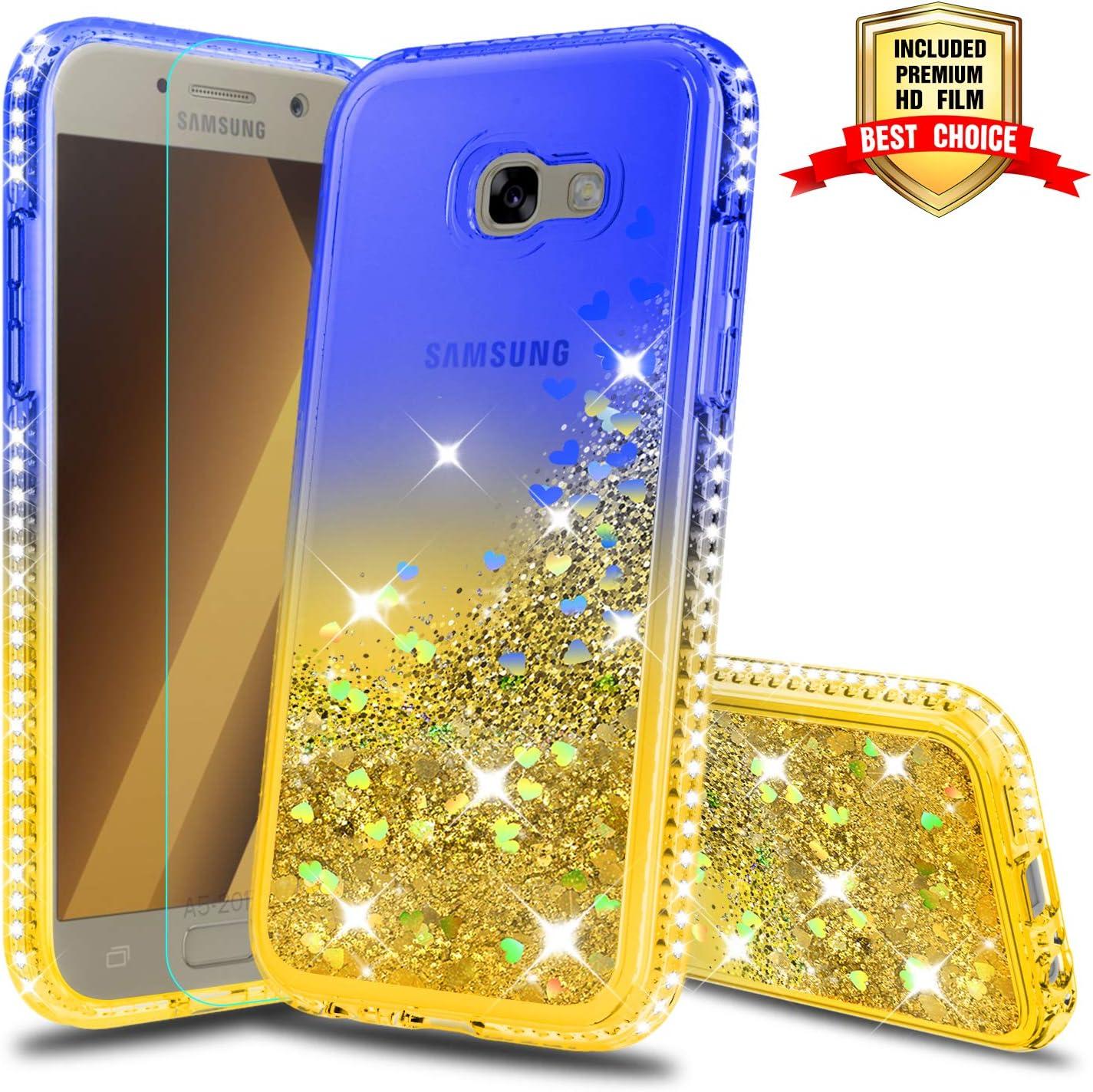 Funda Galaxy A5 2017, Galaxy A5 2017 Glitter Fundas Líquido ...