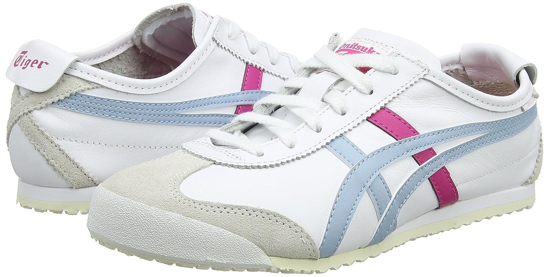 72d8305bac ASICS Women's Onitsuka Tiger Mexico 66 Low-Top Sneakers, (White/Smoke Light  Blue 0140), 7.5 UK: Amazon.co.uk: Shoes & Bags