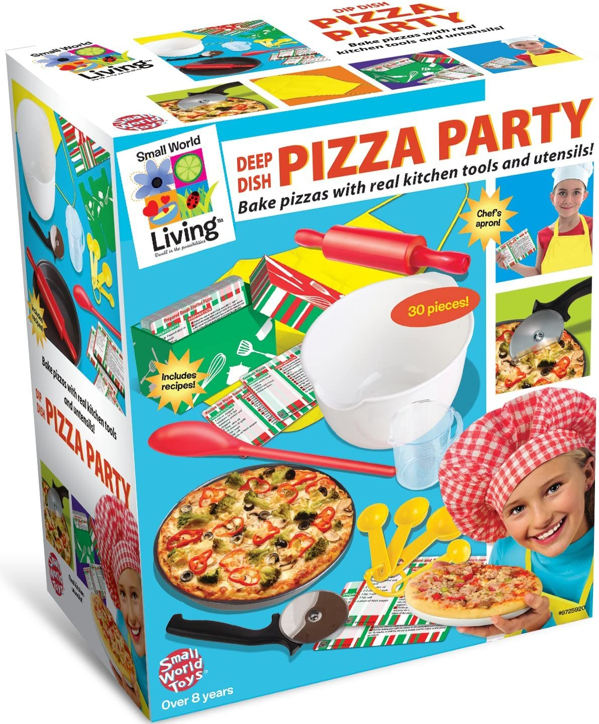 Small World Toys Living - Deep Dish Pizza Party
