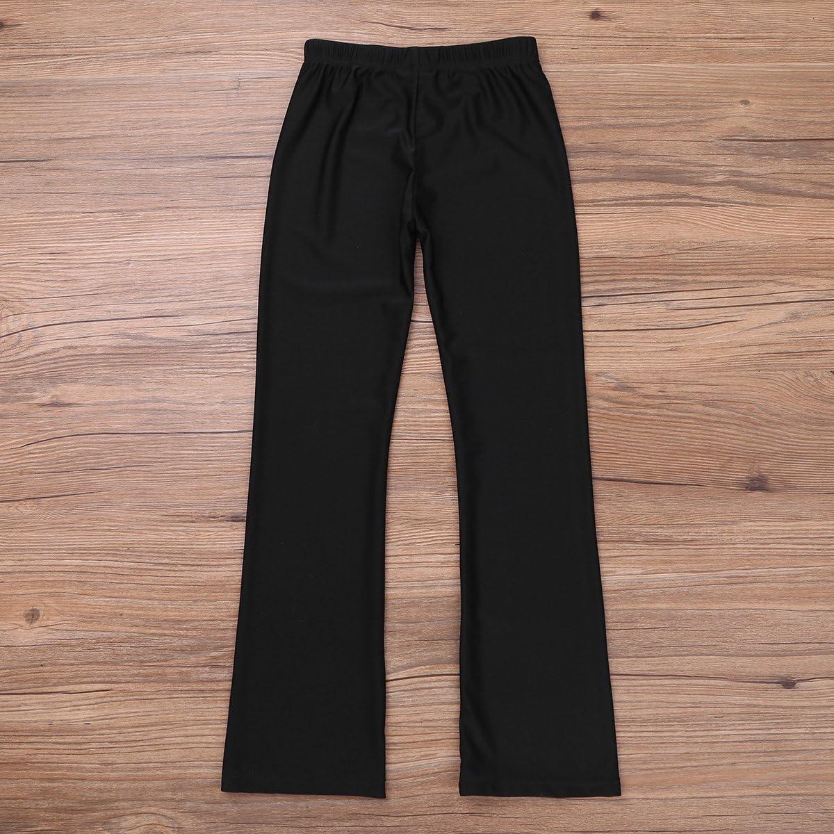 Choomomo Kids Girls Classic Long Pants Yoga Sports Gymnastic Workout Modern Dance Casual Daily Wear