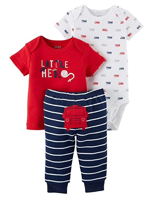 8283658d7 Carters Preemie Clothes for Boys Baby Pants Bodysuit Shirt 3 Pc Many Colors  (Preemie Size Fits up to 6lb and 17