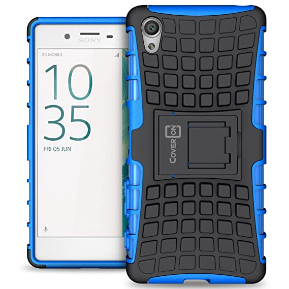 premium selection c1b54 e1d12 Amazon.com: Sony Xperia X Case, CoverON Atomic Series Hybrid ...