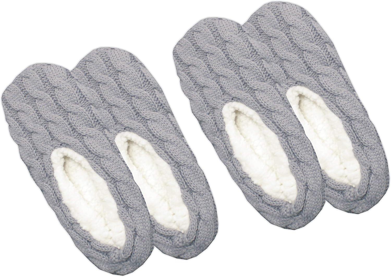 GAWILO Womens Sock Slippers