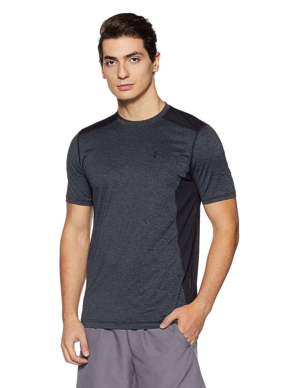 (アンダーアーマー) UNDER ARMOUR ヒットヒートギアSS(トレーニング/Tシャツ/MEN)[1257466] B01A0NKORA L STEALTH GRAY/BLACK/BLACK STEALTH GRAY/BLACK/BLACK L