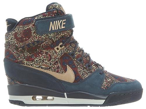 4c05afe84a Nike Air Revolution Sky Hi Liberty QS Womens Wedge Shoes 632181 (5, Armory  Navy/Vachetta Tan): Amazon.ca: Shoes & Handbags